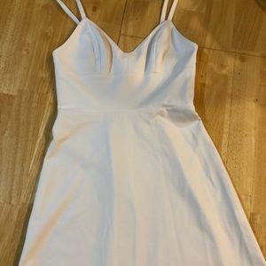 Size P/XS Amanda Uprichard White strappy dress